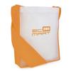Contrast Messager Bag in orange
