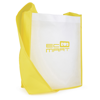 Contrast Messager Bag in yellow