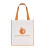 Large Contrast Shopper in orange