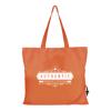 Folding Shopper in orange