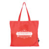 Folding Shopper in red