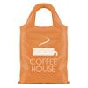 Eliss Foldable Shopper in orange