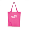 Trafford Foldable Shopper in pink
