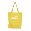 Trafford Foldable Shopper in yellow