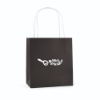 Ardville Small Paper Bag in black