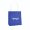 Ardville Small Paper Bag in blue