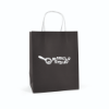 Ardville Medium Paper Bag in black