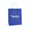 Ardville Medium Paper Bag in blue