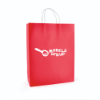 Ardville Large Paper Bag in red