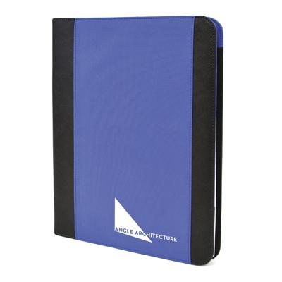 Antrim A4 Folder in blue