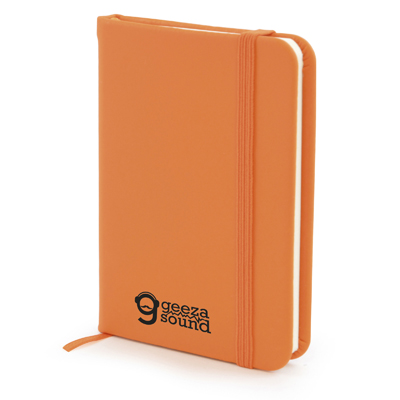 A7 Mole Notebook in orange