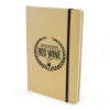 A5 Natural Recycled Notebook in black