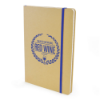 A5 Natural Recycled Notebook in blue