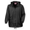 Rain Jacket in black