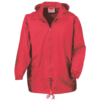 Rain Jacket in red