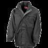 Multi-Function Midweight Jacket in black-grey