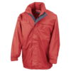 Multi-Function Midweight Jacket in red-navy