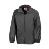Windcheater Rainjacket in a Bag in black