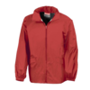 Windcheater Rainjacket in a Bag in red