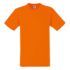 Heavy Cotton T-Shirt in orange