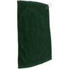 Golf Pro Towel Stitched in green