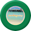 Recycled Frisbee Small in green