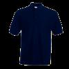 Pique Polo Shirt in deep-navy