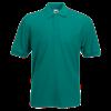 Pique Polo Shirt in emerald