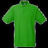 Pique Polo Shirt in kelly-green