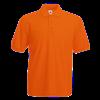 Pique Polo Shirt in orange