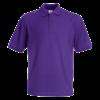 Pique Polo Shirt in purple