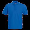 Pique Polo Shirt in royal-blue
