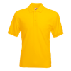 Pique Polo Shirt in sunflower