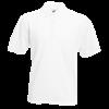 Pique Polo Shirt in white