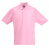 Kids Pique Polo Shirt in light-pink