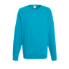 Lightweight Raglan Sweatshirt in azure