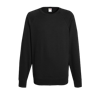 Lightweight Raglan Sweatshirt in black