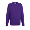 Lightweight Raglan Sweatshirt in purple
