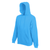 Hooded Sweatshirt in azure