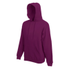 Hooded Sweatshirt in burgundy