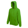 Hooded Sweatshirt in kelly-green