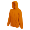 Hooded Sweatshirt in orange
