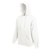 Hooded Sweatshirt in white