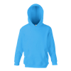 Kids Hooded Sweatshirt in azure