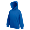 Kids Hooded Sweatshirt in royal-blue