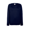 Lady Fit Lightweight Raglan Sweatshirt in deep-navy