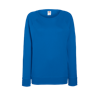 Lady Fit Lightweight Raglan Sweatshirt in royal-blue