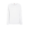 Lady Fit Lightweight Raglan Sweatshirt in white