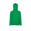 Lady Fit Lightweight Hooded Sweatshirt in kelly-green