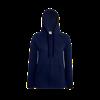 Lady Fit Lightweight Zip Hooded Sweatshirt in deep-navy